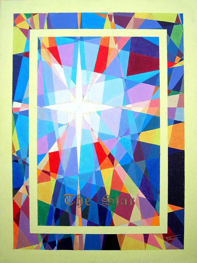 Colorful Painting - The Star by Thomas Campbell