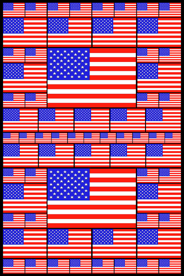 The Stars And Stripes 4 Digital Art
