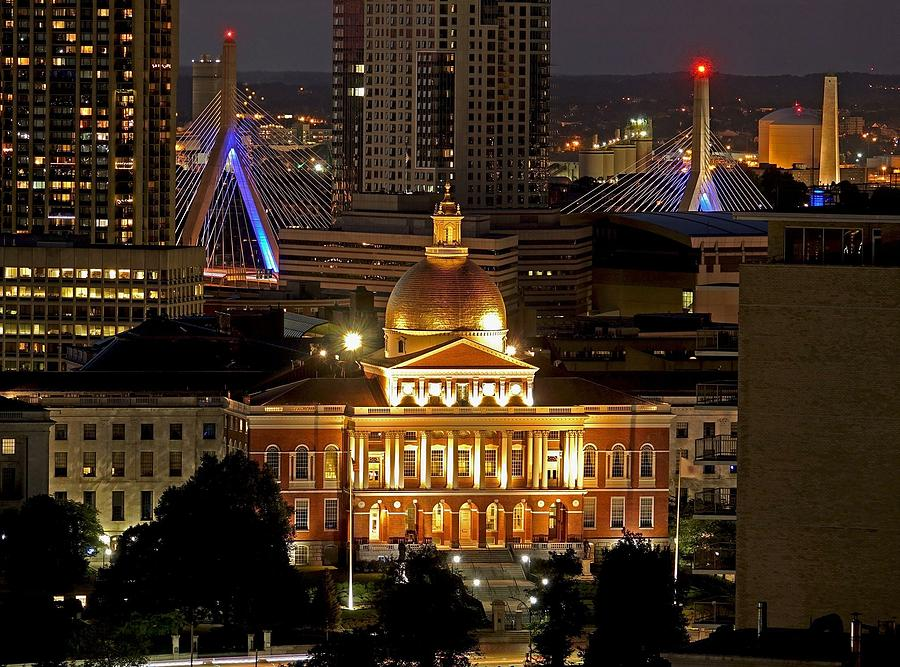 The Statehouse by Rick Macomber