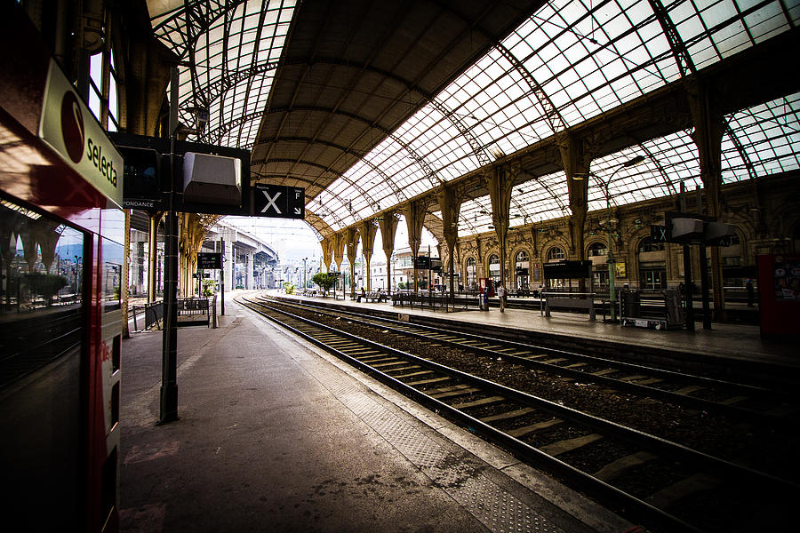 Europe Photograph - The Station by Jason Smith