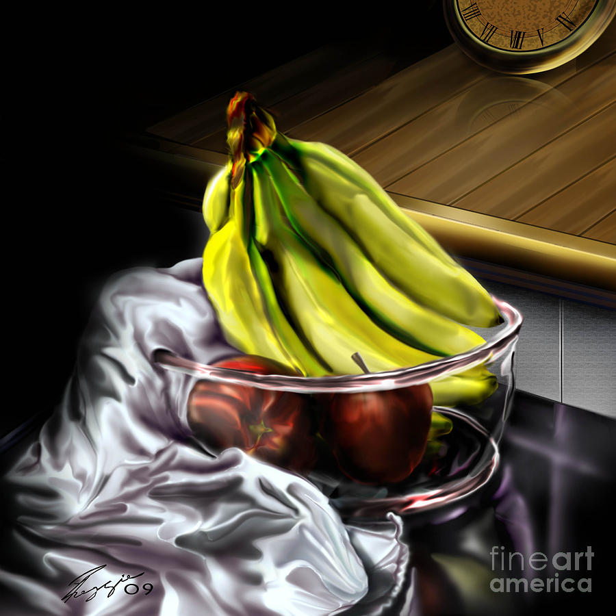 Still Life Painting Painting - The Still Of Peace by Reggie Duffie