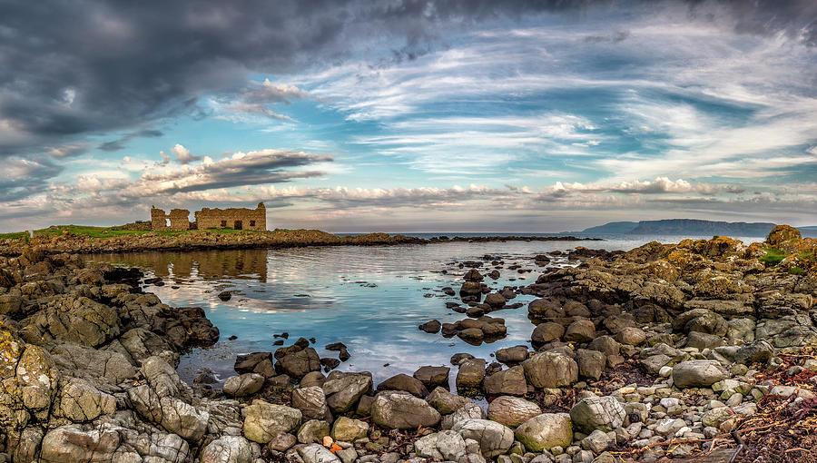 Fair Head Photograph - The Stilled Harbour... by Glen Sumner