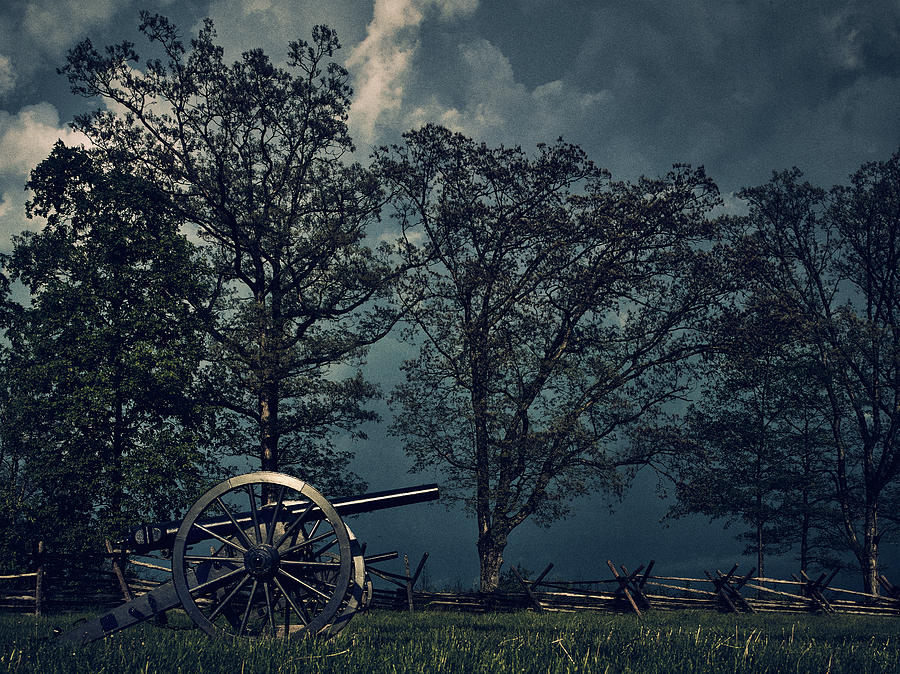 The Storm At Gettysbug by Teresa Mann