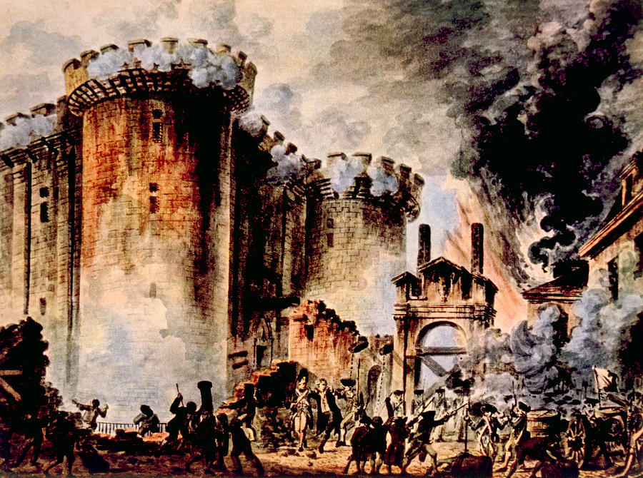 1700s Photograph - The Storming Of The Bastille, Paris by Everett