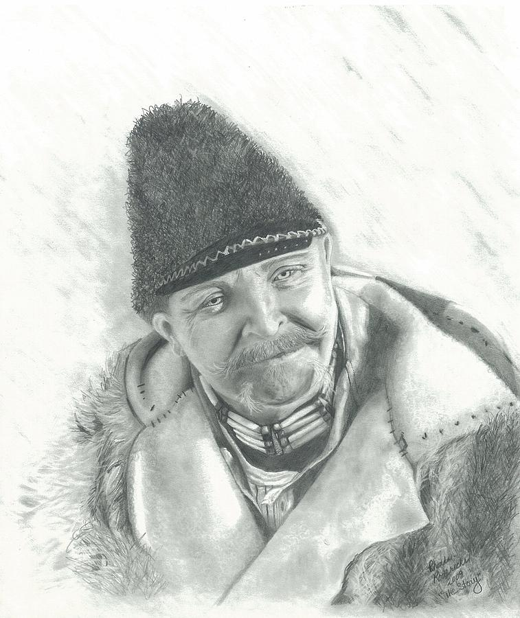 Portrait Drawing - The Story  by Rhonda  Rodericks