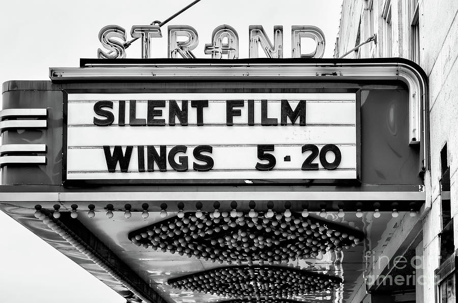 The Strand Marquee - Bw Photograph