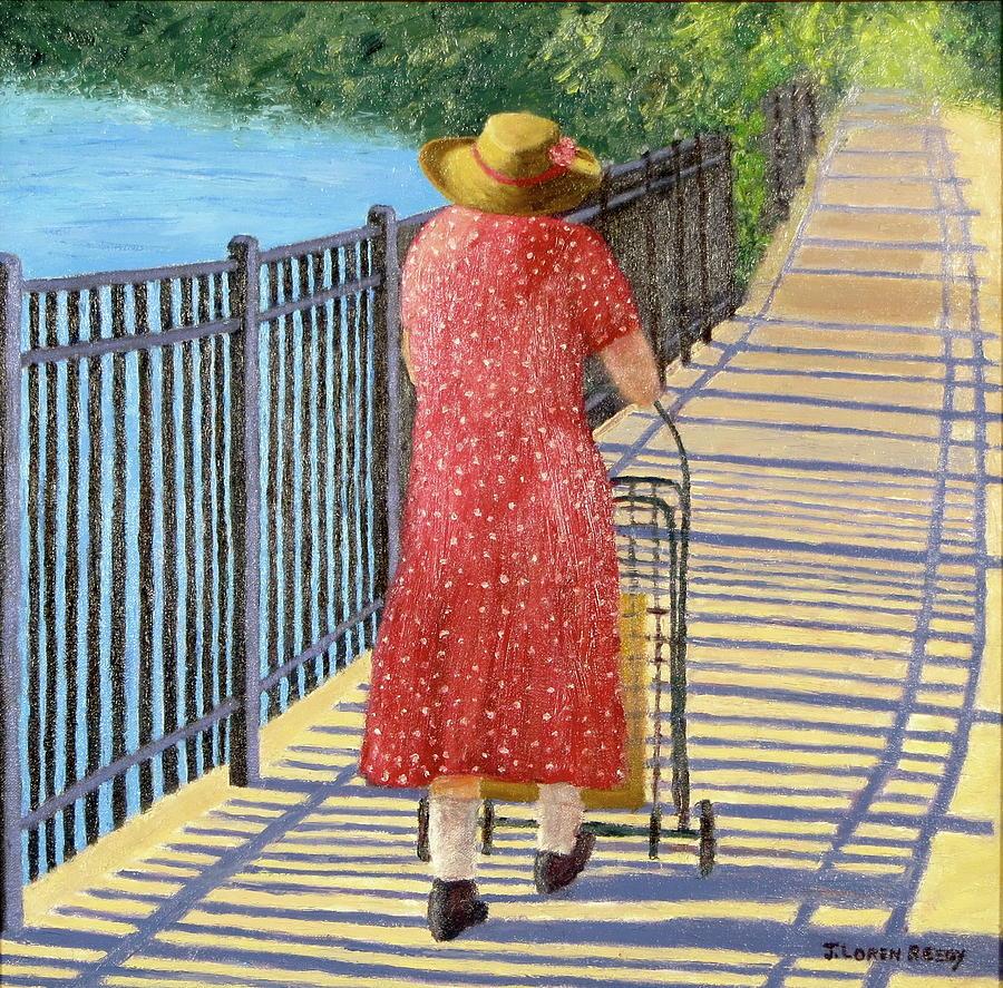 The Straw Hat by J Loren Reedy
