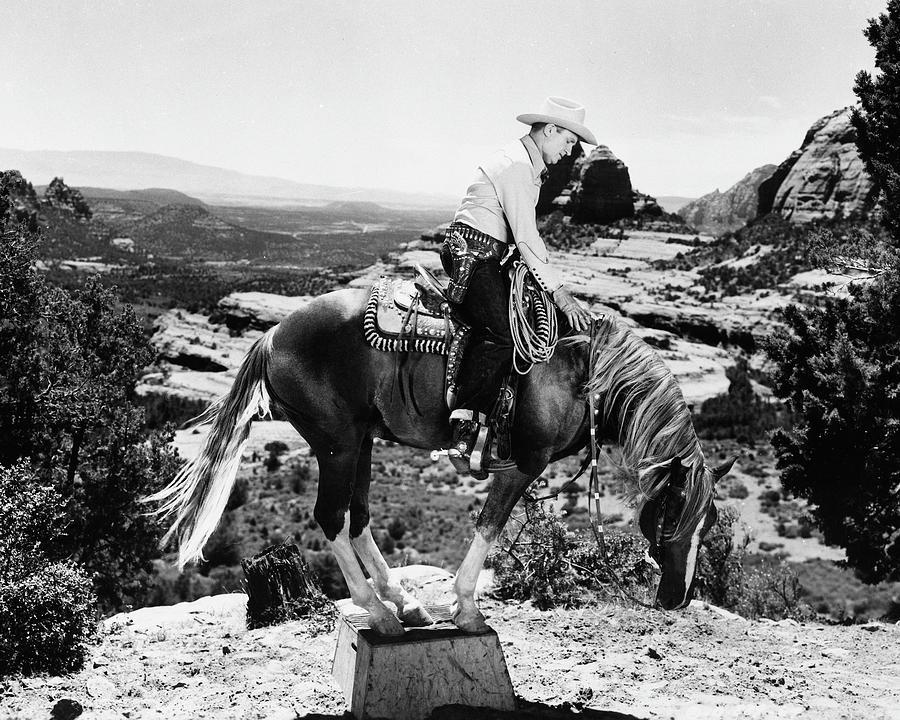 Arizona Photograph - The Strawberry Roan 1 by Bob Bradshaw