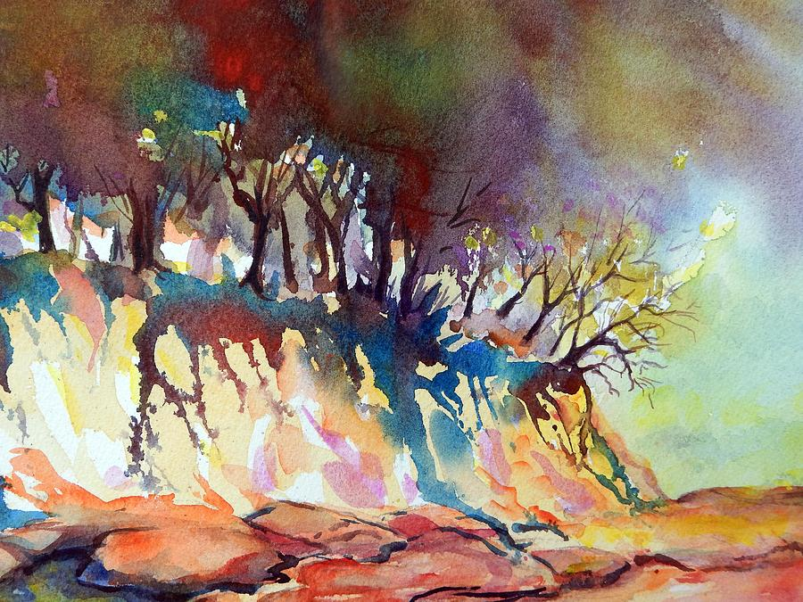 Landscape Painting - Oregon Wilderness by Caroline Patrick
