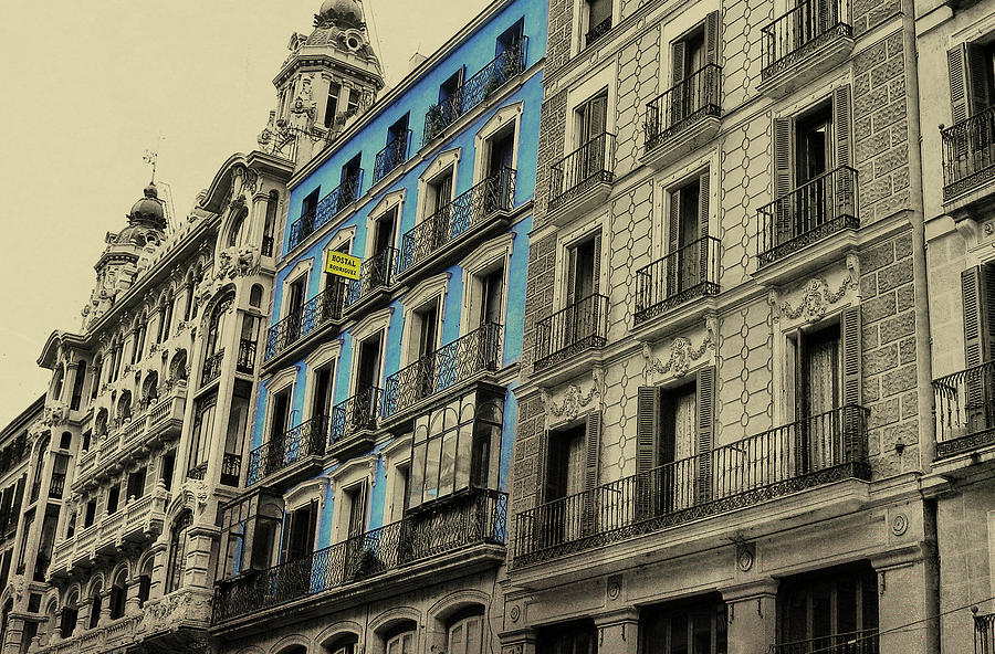 Architecture Photograph - The Streets Of Toledo by JAMART Photography