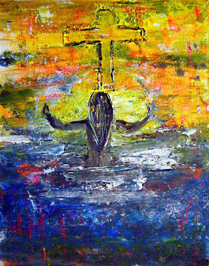 Survivor Painting - The Strength Of The Survivor 4 by Colleen Ranney