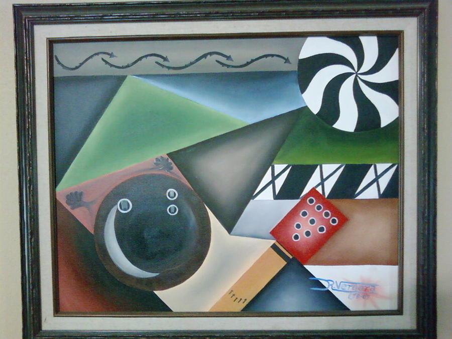 Sports Painting - The Strike by Raul  Vergara