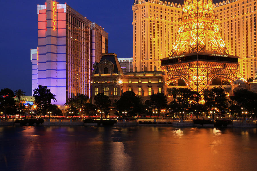 Las Vegas Photograph - The Strip At Night 1 by Don MacCarthy