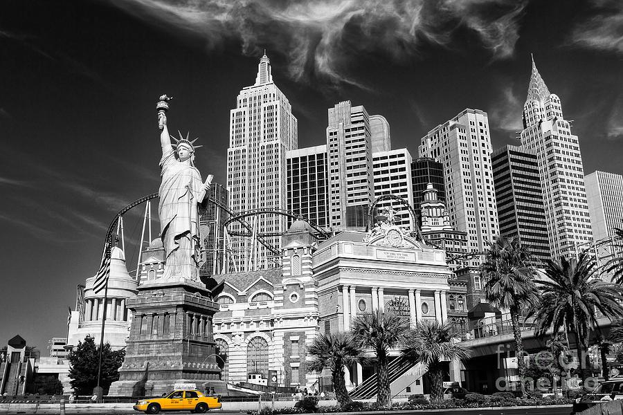 Las Vegas Photograph - The Strip by Geoffrey Gilson