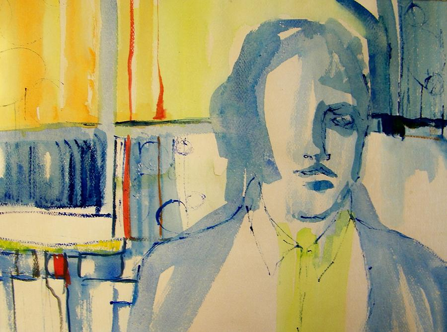 Abstract Painting - The Study by Judith Redman
