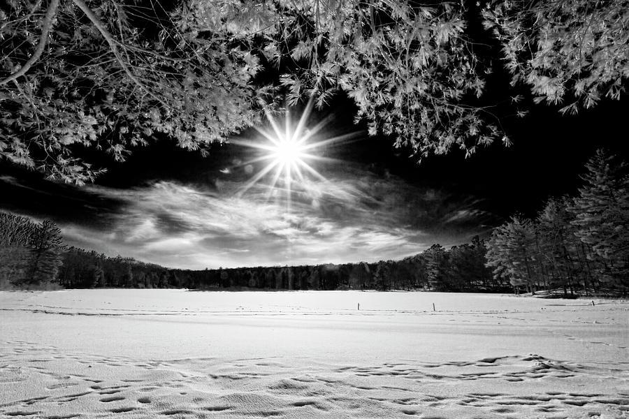 The Sun Over Stony Lake II by Dawn J Benko