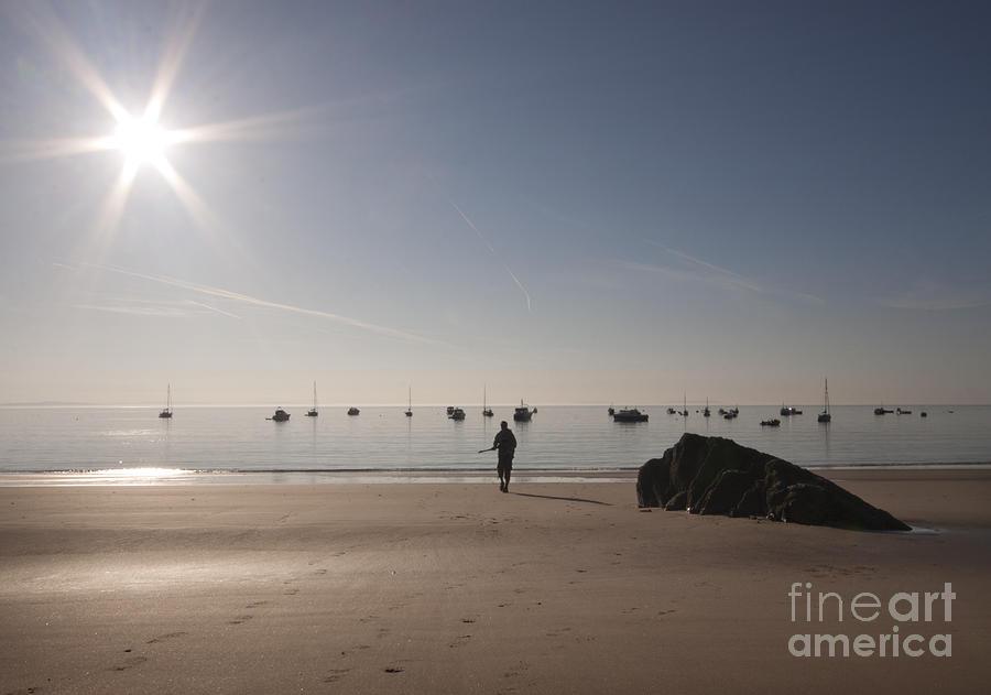 Sunrise Photograph - The Sunrise by Angel Ciesniarska
