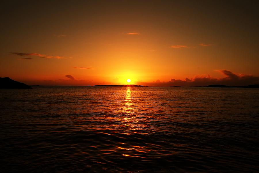Lovely Photograph - The Sunset by J H