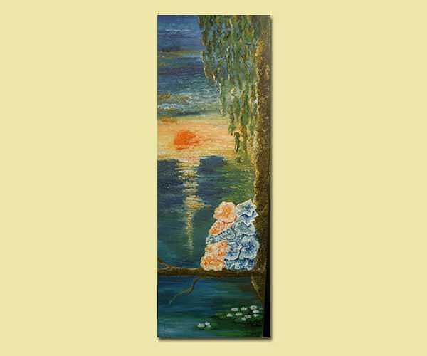 The Sunset Love Painting by Karina Ishkhanova
