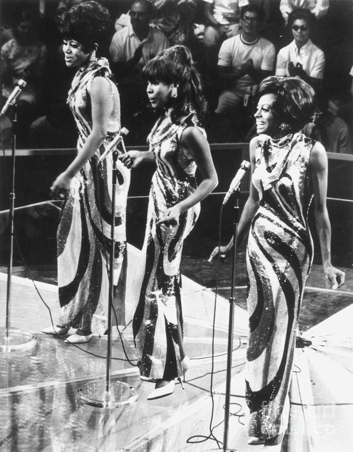 1963 Photograph - The Supremes, C1963 by Granger