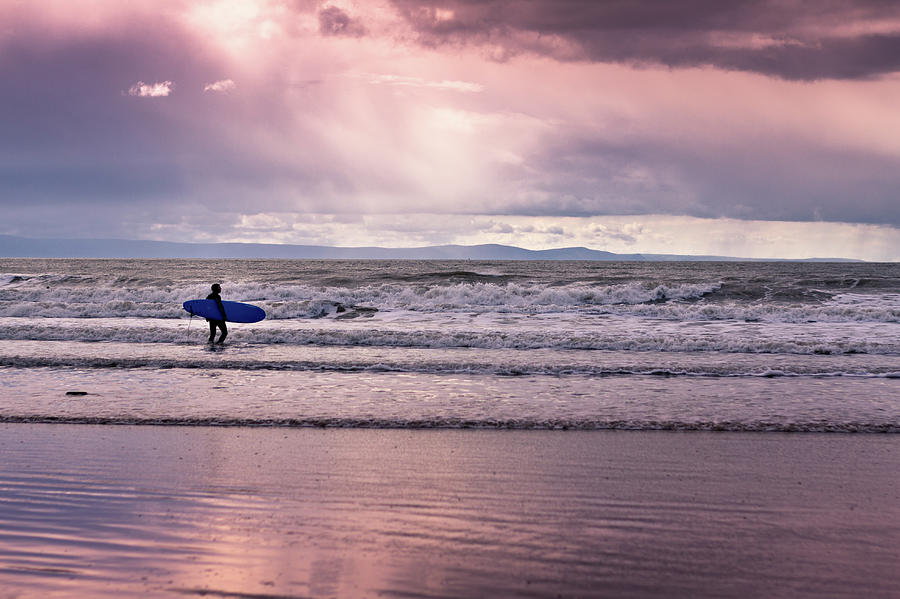 Surf Photograph - The Surfer by Justin Albrecht