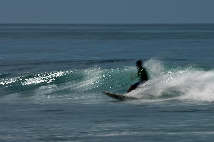 Bay Of Banderas Photograph - The Surfer by R J Ruppenthal