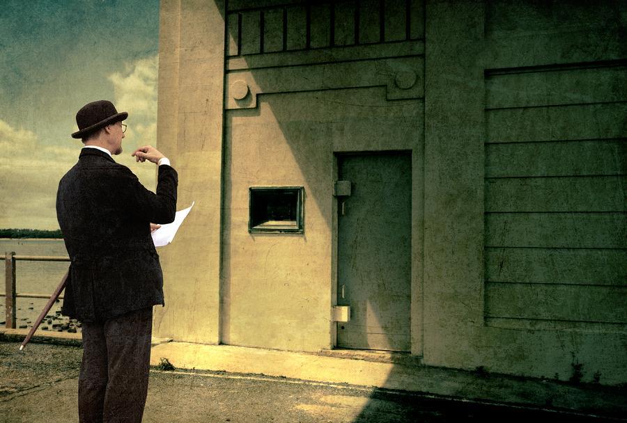 Deco Photograph - The Surveyor by Mel Brackstone