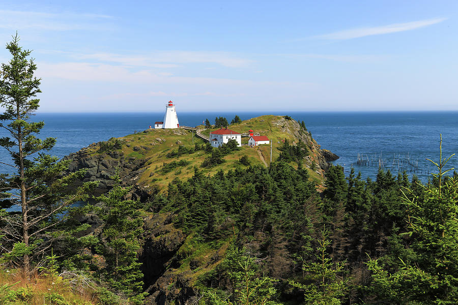 Grand Manan Island Photograph - The Swallowtail Lightstation by Gary Hall
