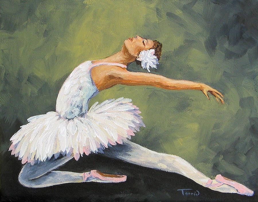 Ballet Painting - The Swan III  by Torrie Smiley