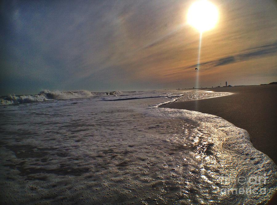 Beach Photograph - The Sweep by Stephanie  Varner