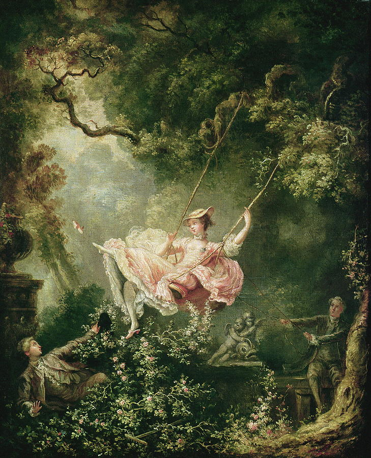 The Swing 18th Century Painting By Jean Honore Fragonard