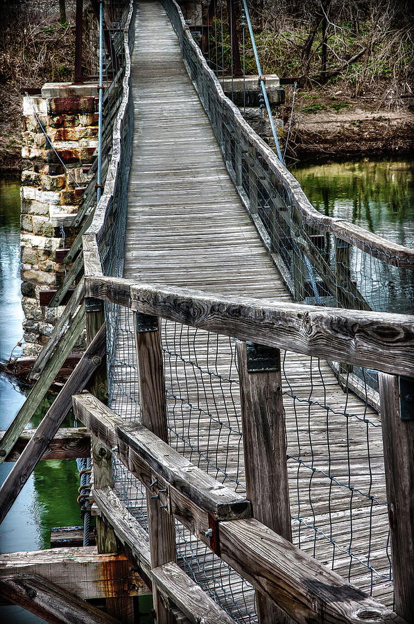 The Swinging Bridge Photograph