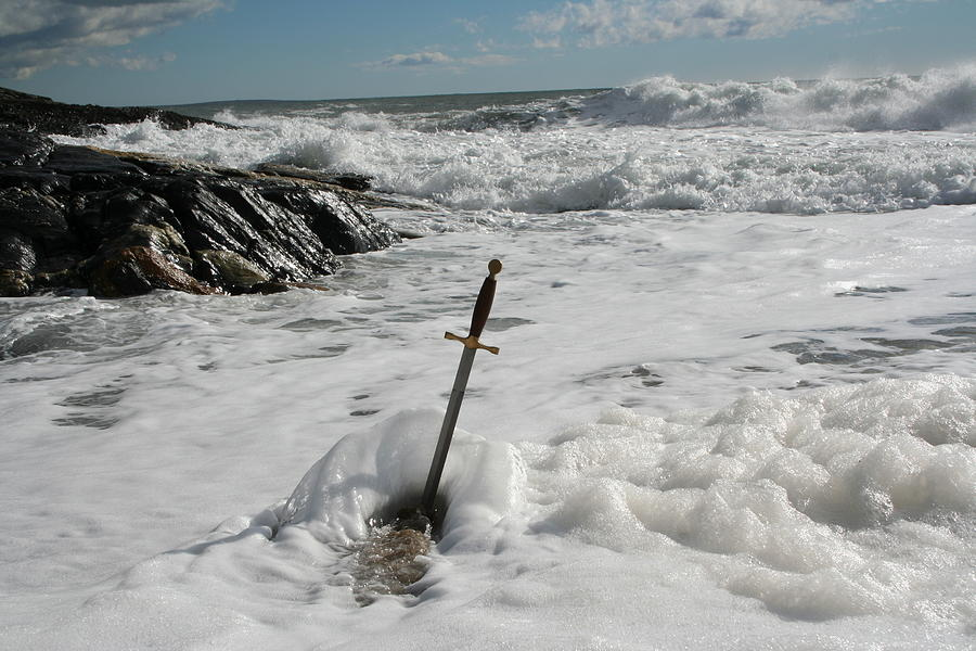 Seascape Photograph - The Sword 2 by Doug Mills