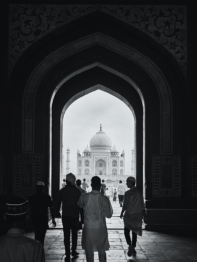 The Taj At Eid Photograph