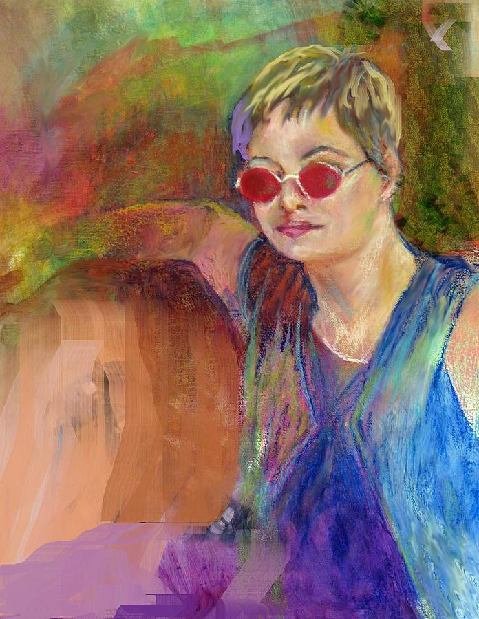 Portrait Painting - The Talent by Jimmie Trotter