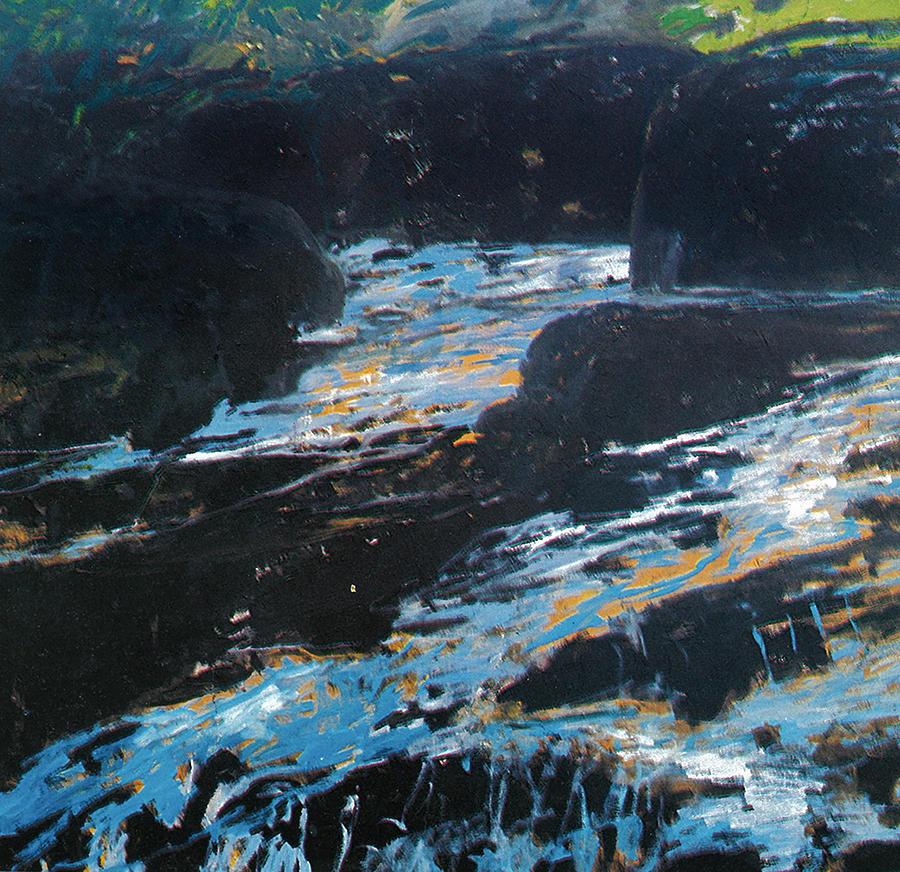 Landscape Painting - The Tara  Canyon by Vladimir Vlahovic