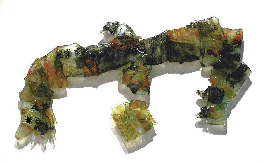 Glass Sculpture - The Tasmanian  Landscape by Sarah King