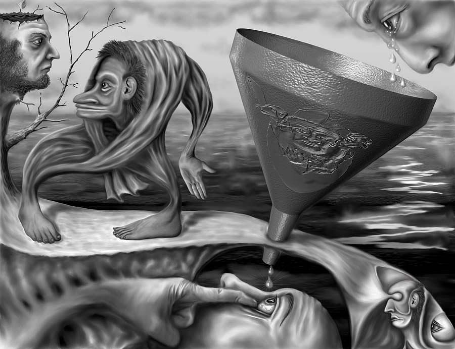 The Tearsmaker And Co Digital Art by Vladimir Moldavsky