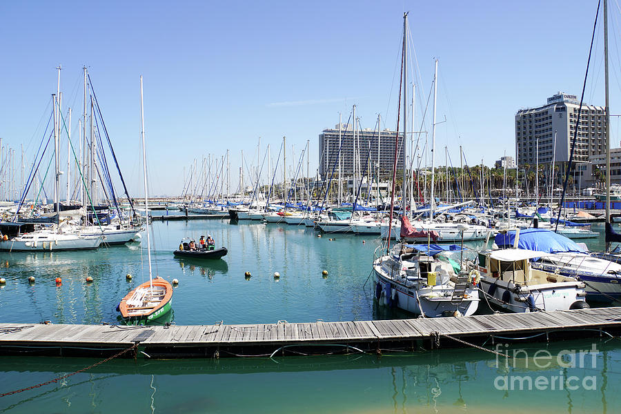 Leisure Photograph - The Tel Aviv Marina  by Vladi Alon