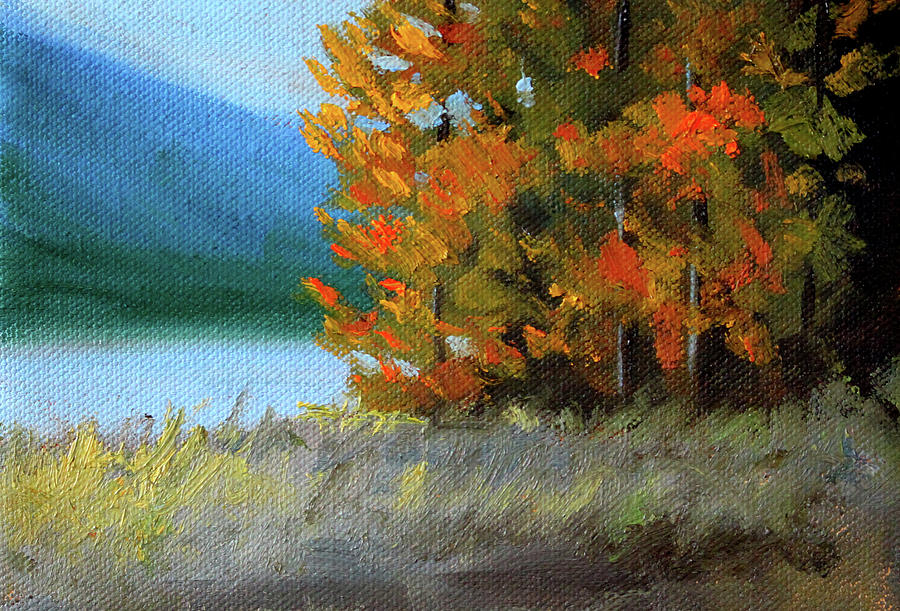 Painting Painting - The Tenth Month by Nancy Merkle