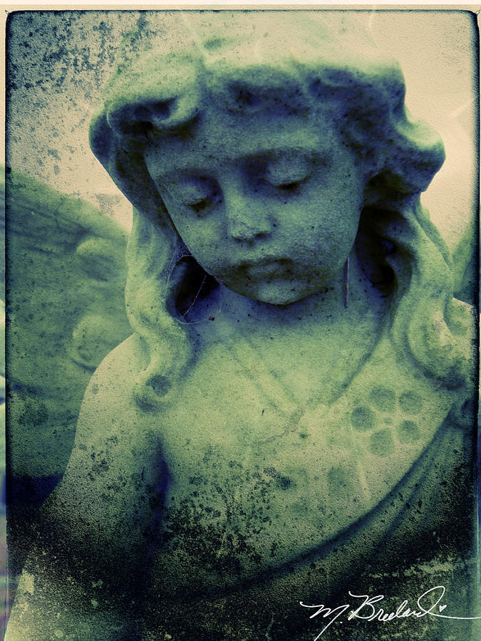 Cemetery Photograph - The Texture Of Sadness by Melissa Wyatt