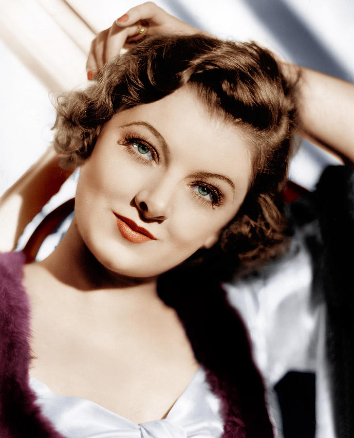 1930s Movies Photograph - The Thin Man, Myrna Loy, 1934 by Everett