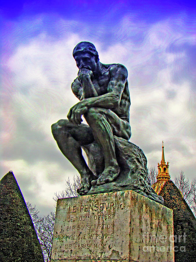 Thinker >> The Thinker Le Penseur By Auguste Rodin Photograph By Al
