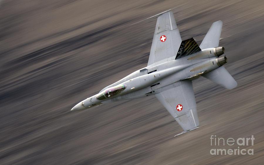 Axalp Photograph - The Thrust by Angel  Tarantella