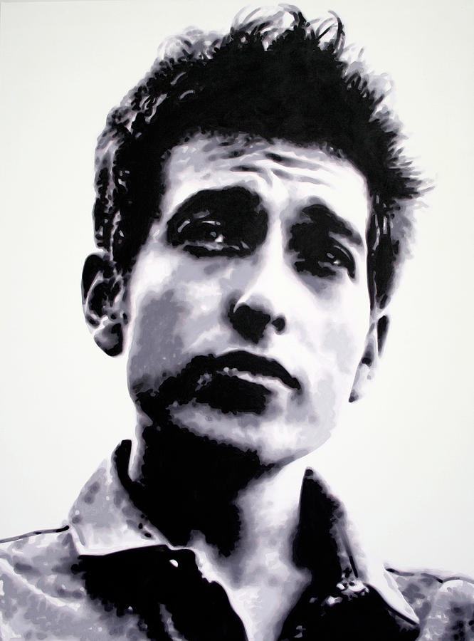 Bob Dylan Painting - The Times They Are A Changin . .  by Luis Ludzska
