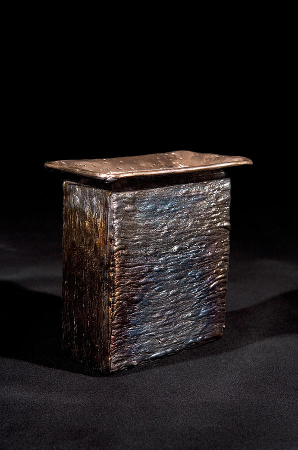 Sculpture Sculpture - The Tin Box by Shane Halley