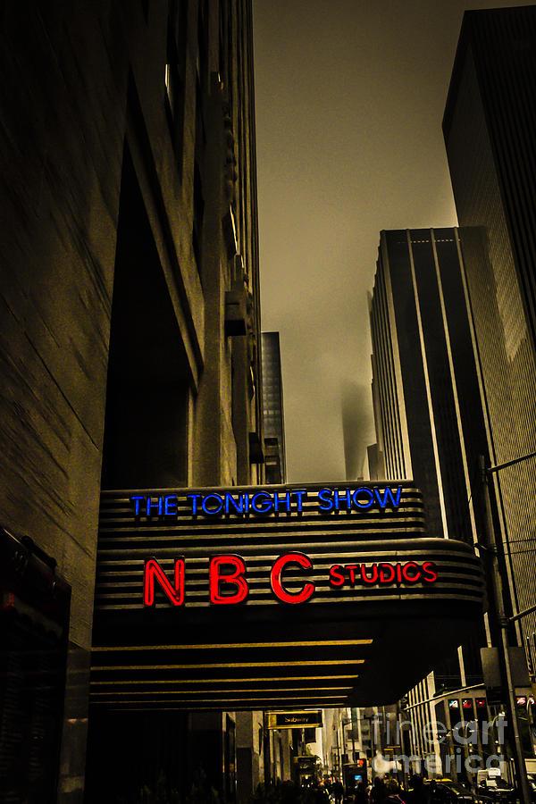 The Tonight Show Nbc Studios Rockefeller Center Photograph By Edward Fielding