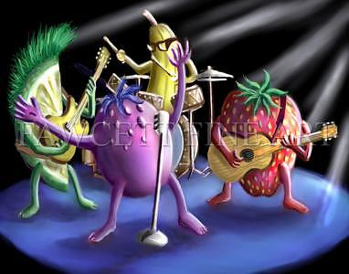 The Tooty Fruits Digital Art by Randy Fawcett