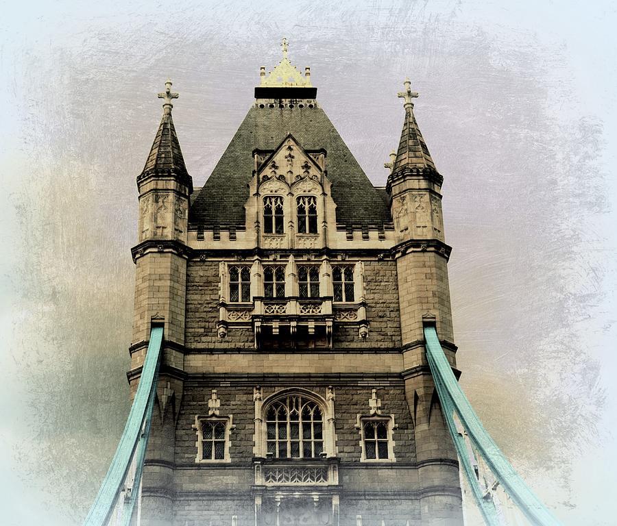 Bridges Photograph - The Tower Bridge In London 2 by Toni Abdnour