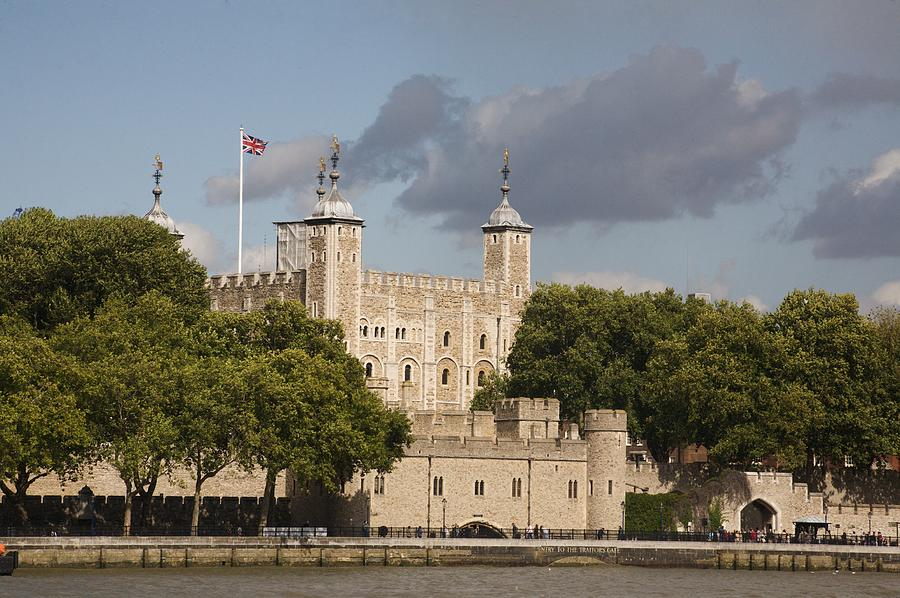 Towers Photograph - The Tower Of London. by Christopher Rowlands